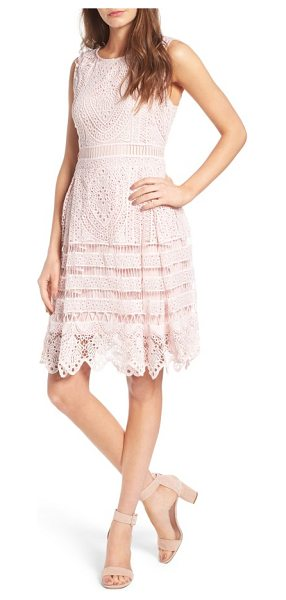 cupcakes and cashmere summers sheath dress in soft pink - Look ladylike and polished in no time with this summery...