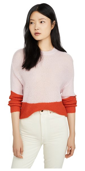 cupcakes and cashmere janus sweater in strawberry cream