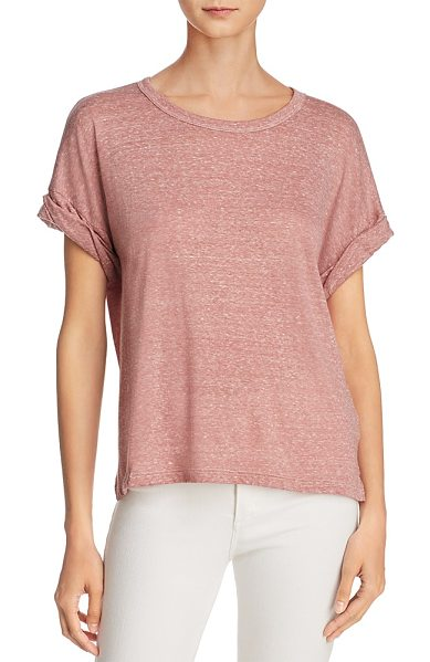 CURRENT/ELLIOTT Current/Elliott Cuff Tee - Current/Elliott Cuff Tee-Women