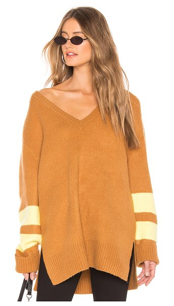 Current/Elliott The 79 Sweater in brown