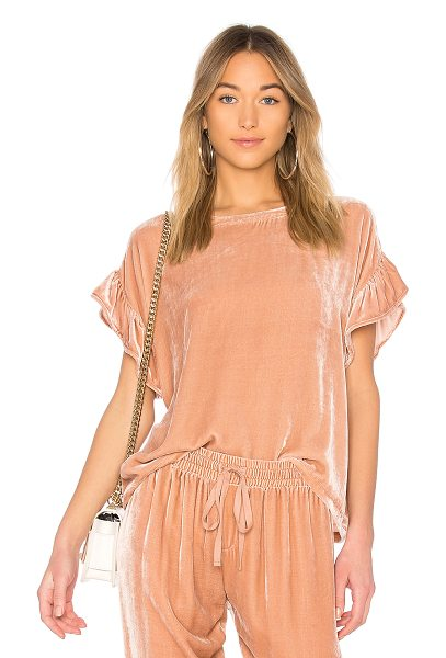 Current/Elliott The Janie Top in rose