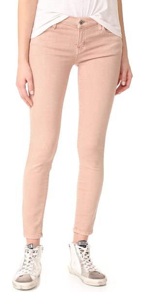 CURRENT/ELLIOTT the stiletto jeans in rose dust - 5-pocket Current / Elliott skinny jeans in a dusty hue....