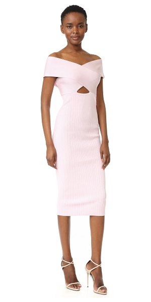 CUSHNIE ET OCHS boat neck pencil dress - A Cushnie Et Ochs dress in a sleek, formfitting profile....