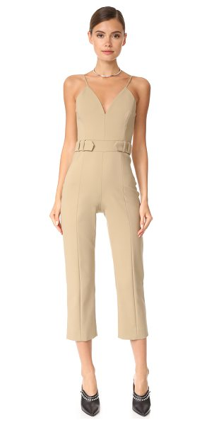 CUSHNIE ET OCHS cropped jumpsuit - This sleek, formfitting Cushnie Et Ochs jumpsuit is...