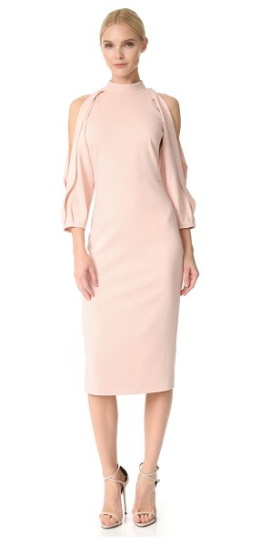 Cushnie et Ochs gina pencil dress in shell - A chic, slim Cushnie Et Ochs sheath dress with revealing...