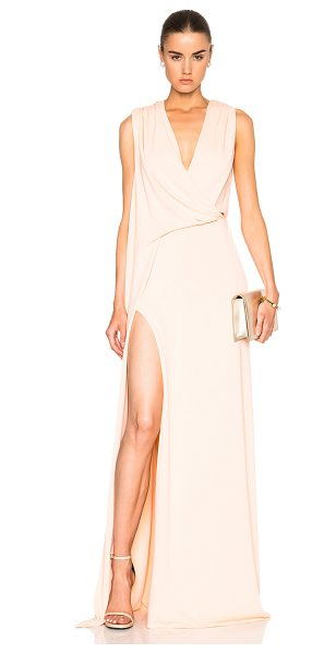 Cushnie et Ochs Ibiza Dress in pink - Self: 94% viscose 6% spandex - Lining: 100% silk.  Made...
