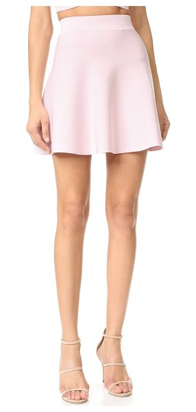 Cushnie et Ochs mini circle skirt in light pink - A flirty Cushnie Et Ochs circle skirt, composed of...