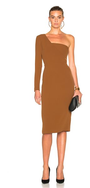 CUSHNIE ET OCHS Stretch Cady Dress - Self: 97% viscose 3% elastan - Lining: 93% silk 7%...