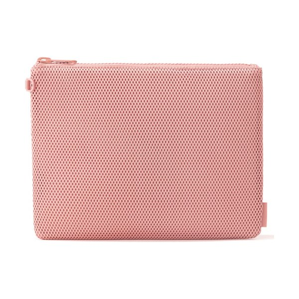DAGNE DOVER extra large parker pouch in pink - A lightweight zip pouch shaped from easy-care Air mesh...