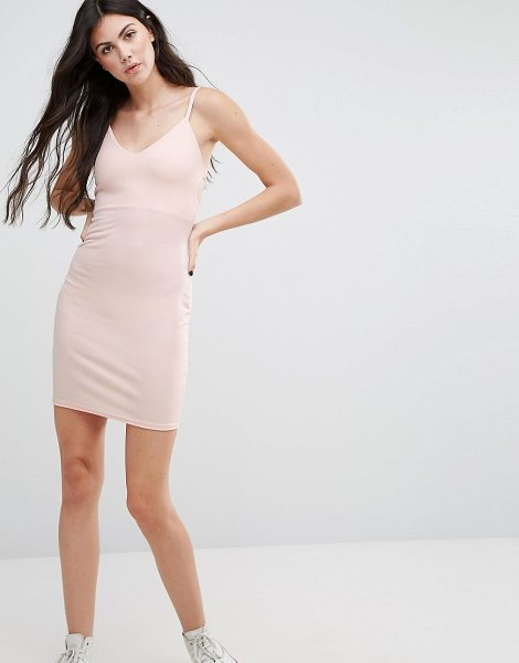 "Daisy Street Strappy Cami Dress in nude - """"Casual dress by Daisy Street, Smooth stretch fabric,..."