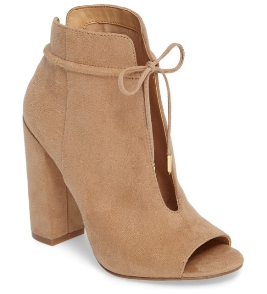 Daya by zen netty open toe bootie in natural