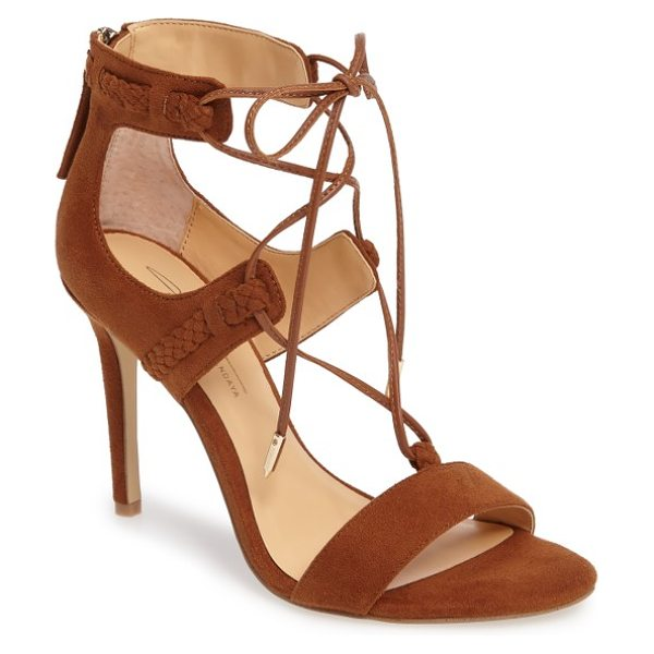 Daya by zen starke sandal in cognac - Instantly elevate your everyday style with a strappy...