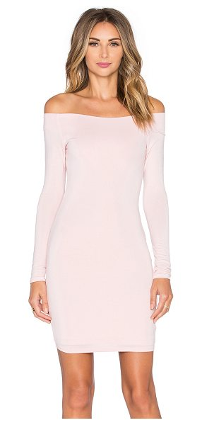 De Lacy Amelia Dress in pink - 95% modal 5% spandex. Fully lined. Jersey knit fabric....