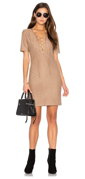 DE LACY Riley Dress - 90% poly 10% spandex. Dry clean only. Unlined. Front...