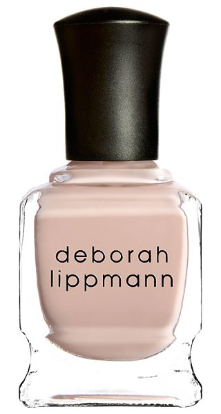Deborah Lippmann nail color in naked (sh) - Treat your nails to the absolute best color with...