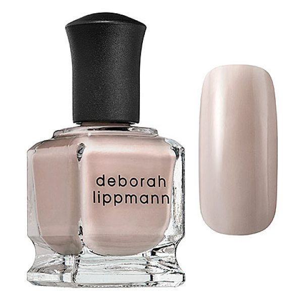 Deborah Lippmann whisper collection like dreamers do 0.5 oz/ 15 ml - A luxe, treatment-enriched fashion nail color. Get...