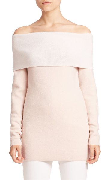 DEREK LAM solid interlock sweater - EXCLUSIVELY AT SAKS FIFTH AVENUE. Classic fitted...