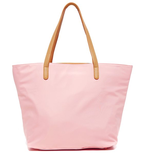 Deux Lux Deux Lux Deux Lux Tote in blush - Exclusive to Shopbop. A large Deux Lux tote in glossy,...