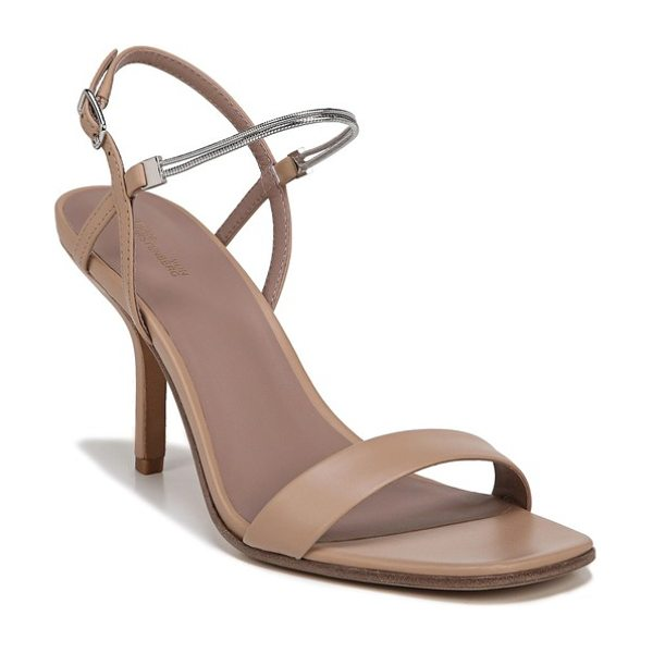 Diane Von Furstenberg frankie sandal in cappuccino - A double-strand snake chain brilliantly wraps the ankle...