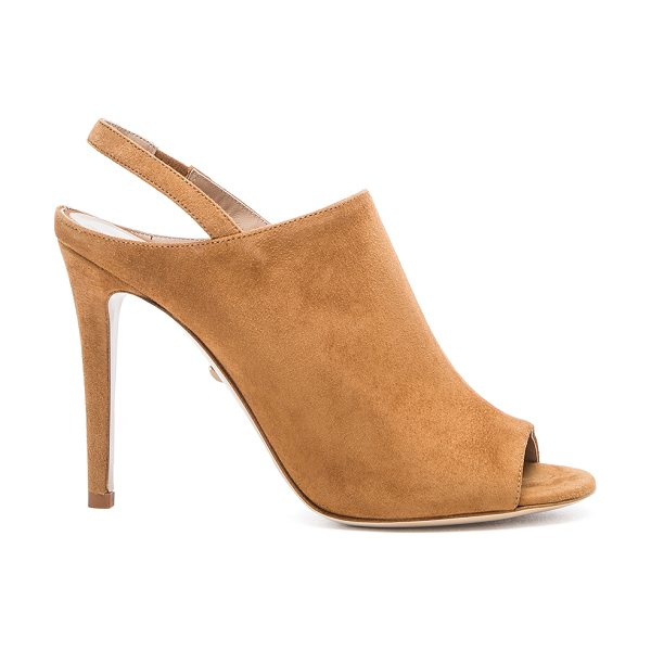 DIANE VON FURSTENBERG Violet heel - Suede upper with leather sole. Heel measures approx...