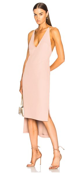 DION LEE Fine Line Dress - Self & Lining: 100% poly.  Made in China.  Dry clean...