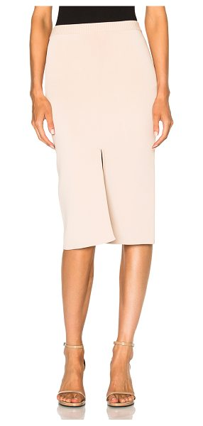 Dion Lee Reversible Split Density Skirt in blush - 77% viscose 23% nylon. Made in China. Dry clean only....