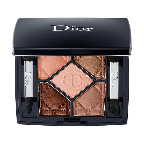 Dior 5-colour eyeshadow amber nuit 746 0.21 oz/ 6 g - A five-color eye shadow palette to add a splash of color...