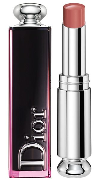 "Dior addict lacquer stick in 320 nude wave / rosy peach - """"For this new generation of lacquers, I wanted the..."