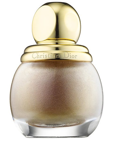 DIOR ific vernis gris-or 227 - A limited-edition shade of Diorific Vernis nail polish....