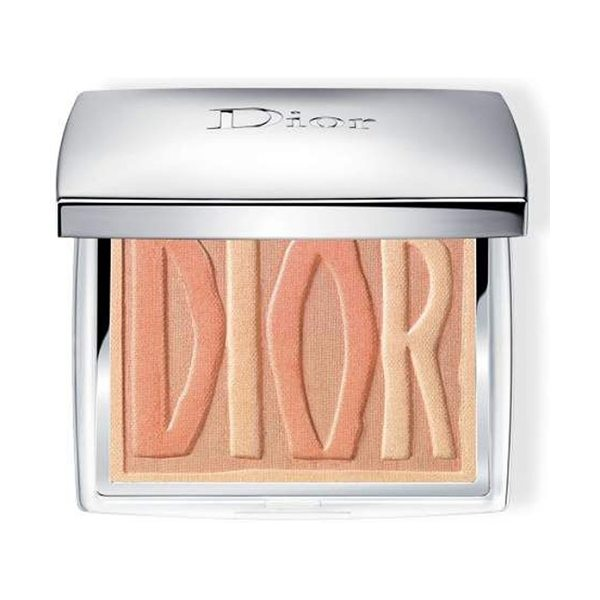 Dior label blush palette in 002 bronze