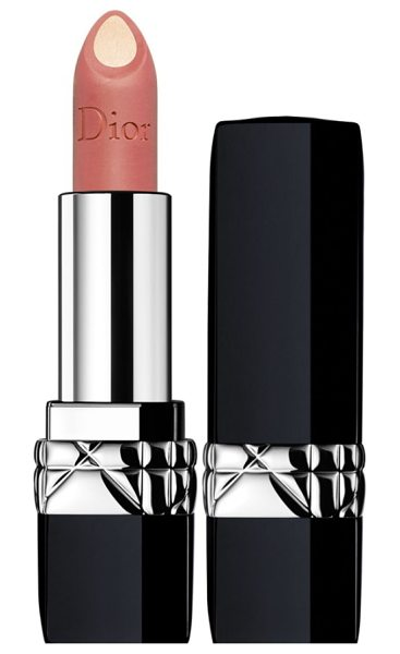 "Dior rouge  double rouge matte metal colour & couture contour lipstick in 239 vibrant nude - """"The difficulty was finding the right combinations of..."