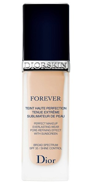 Dior skin forever perfect foundation broad spectrum spf 35 in 015 tender beige - What it is: A luminous, matte-finish foundation that...