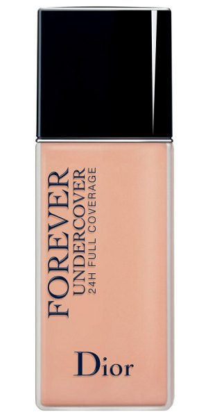 Dior skin forever undercover 24-hour full coverage water-based foundation in 032 rosy beige - What it is: An extreme-wear, ultra-fluid water-based...