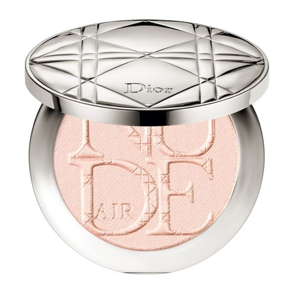 Dior skin nude air luminizer powder in 002 pink glow - What it is: A powder as light as a breeze featuring a...