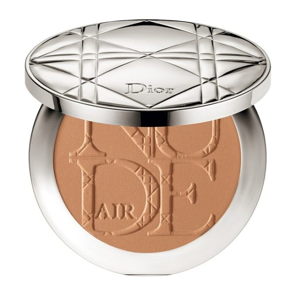 Dior 'skin nude air' tan powder healthy glow sun powder in 001 golden honey - Give your skin a natural-looking tan with Diorskin Nude...