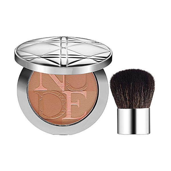 Dior skin nude tan healthy glow enhancing powder 002 sunlight