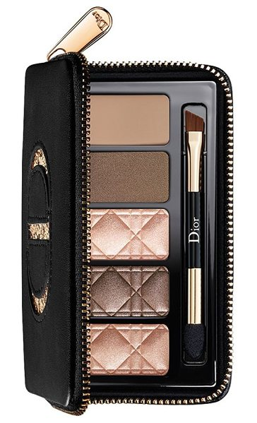 Dior total matte glow nude palette for eyes & brows in glow nude - What it is: This runway-inspired essential nude palette...