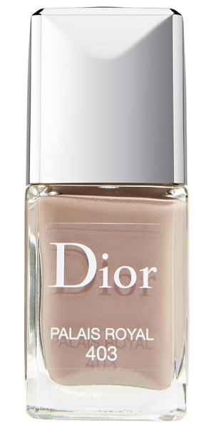 Dior vernis gel shine & long wear nail lacquer in 403 palais royal - What it is: Dior Vernis Gel Shine and Long Wear Nail...