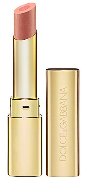 DOLCE & GABBANA passion duo gloss fusion lipstick natural 130 - A velvety smooth lipstick with a satin gloss center....
