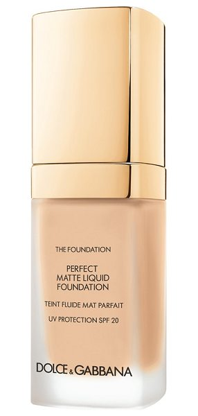 Dolce & Gabbana perfect matte liquid foundation in natural beige 120 - Achieve a flawless, soft matte finish with Dolce &...
