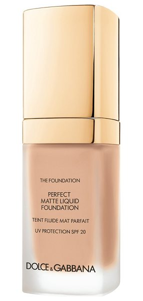 Dolce & Gabbana perfect matte liquid foundation in warm rose 130 - Achieve a flawless, soft matte finish with Dolce &...