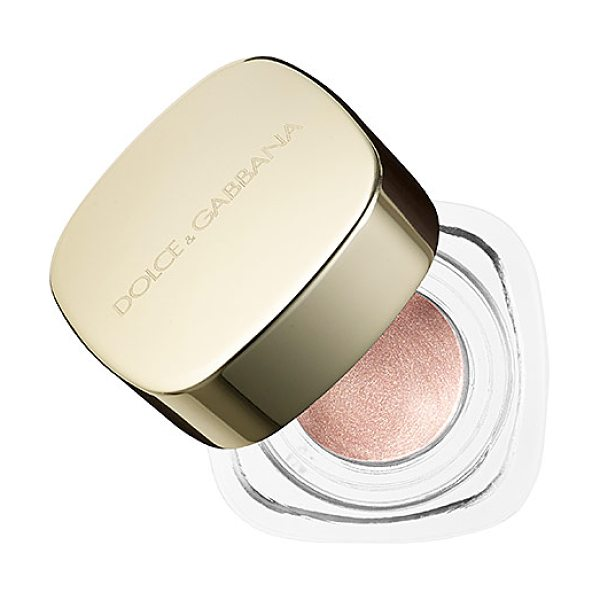 Dolce & Gabbana perfect mono cream eye colour gold dust