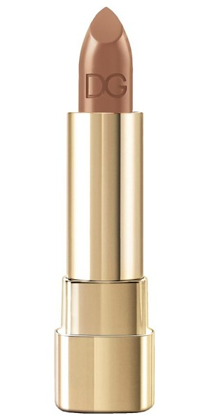 Dolce & Gabbana shine lipstick in almond 77
