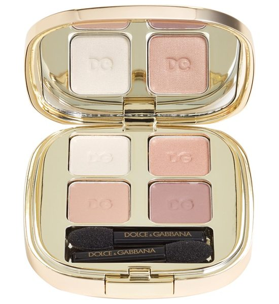 Dolce & Gabbana Smooth eye color quad in tender 121 - Smooth Eye Color Quad by Dolce & Gabbana Beauty is full...