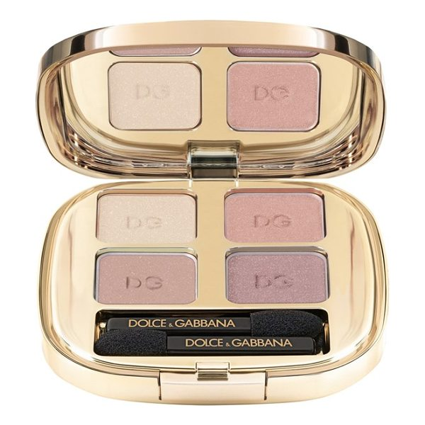 Dolce & Gabbana Smooth eye color quad in tender 121