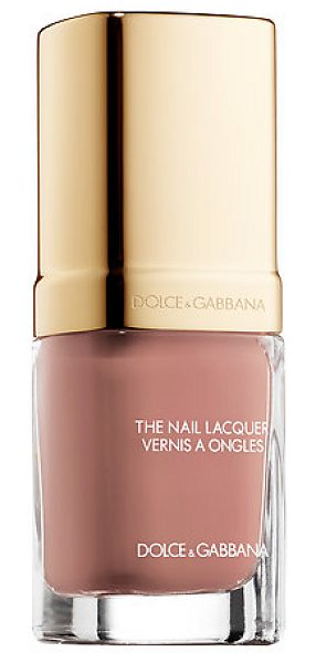 Dolce & Gabbana the nail lacquer 222 antique rose - A nail lacquer with color-rich shades and textures that...