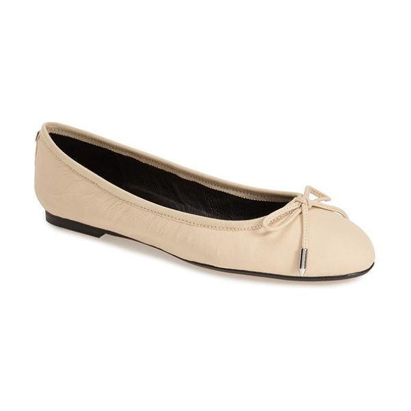 DOLCE VITA brae ballet flat - Polished metallic hardware highlights the dainty bow...