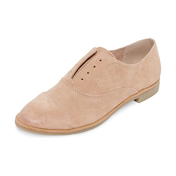 DOLCE VITA cooper oxfords - Relaxed suede Dolce Vita oxfords, styled with inset...