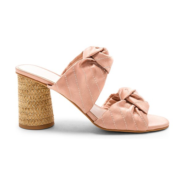 "Dolce Vita Jene Mule in rose - ""Satin textile upper with man made sole. Slip-on..."