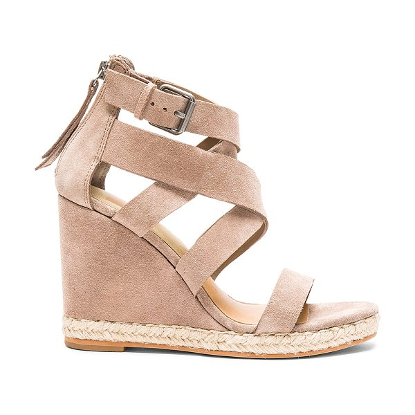 DOLCE VITA Kova Sandal - Suede upper with man made sole. Jute trim. Ankle strap...